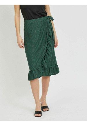 Wrap skirt - garden topiary