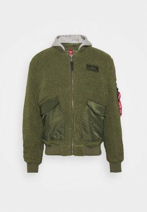 ZIP HOODY - Light jacket - sage green