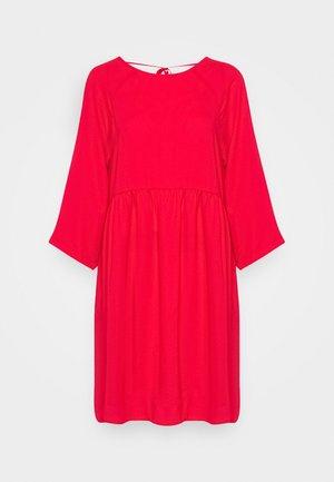 OLIVIA DRESS - Day dress - red