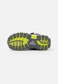Kappa - HOVET TEX UNISEX - Hiking shoes - grey/lime - 4