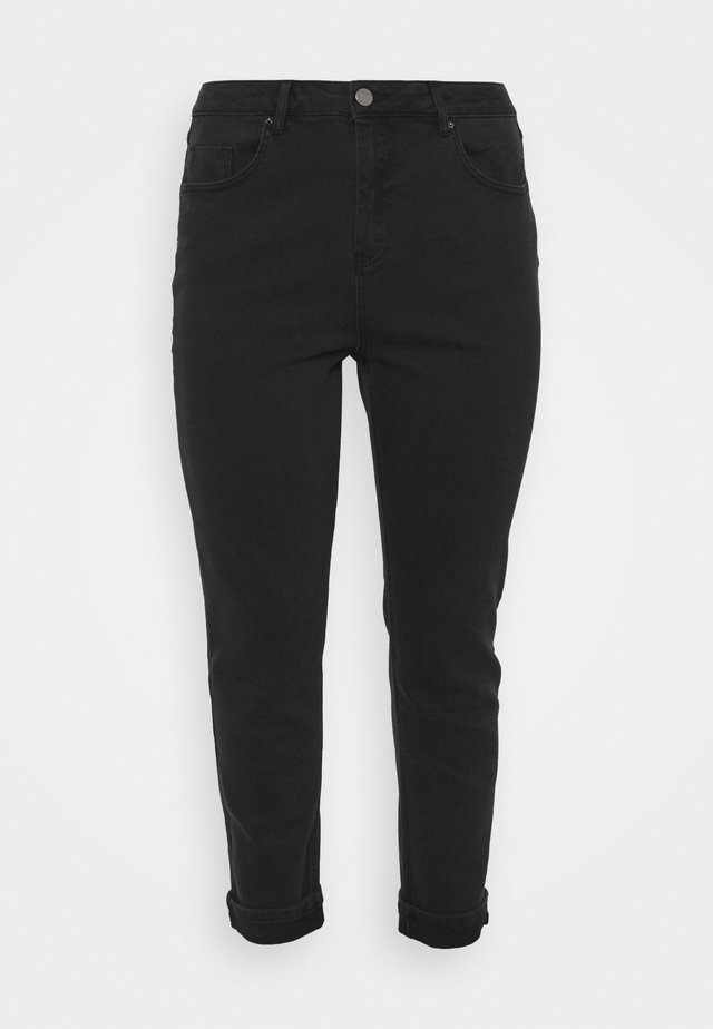 DEMI HIGH WAIST MOM - Relaxed fit jeans - washed black
