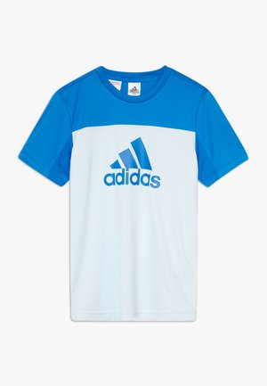 TEE - T-shirt imprimé - lieght blue/blue