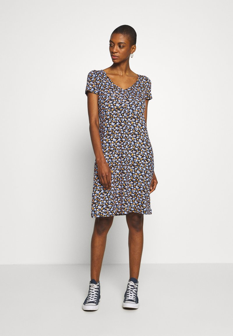 TOM TAILOR - DRESS - Jersey dress - navy