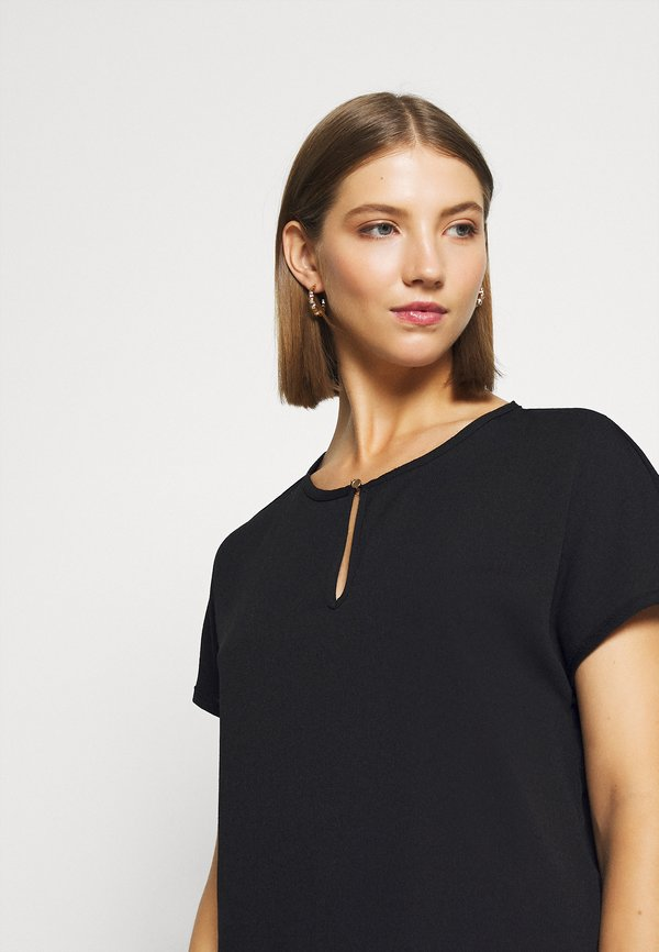 Vero Moda VMARIA BLOUSE - Bluzka - black/czarny BQLD