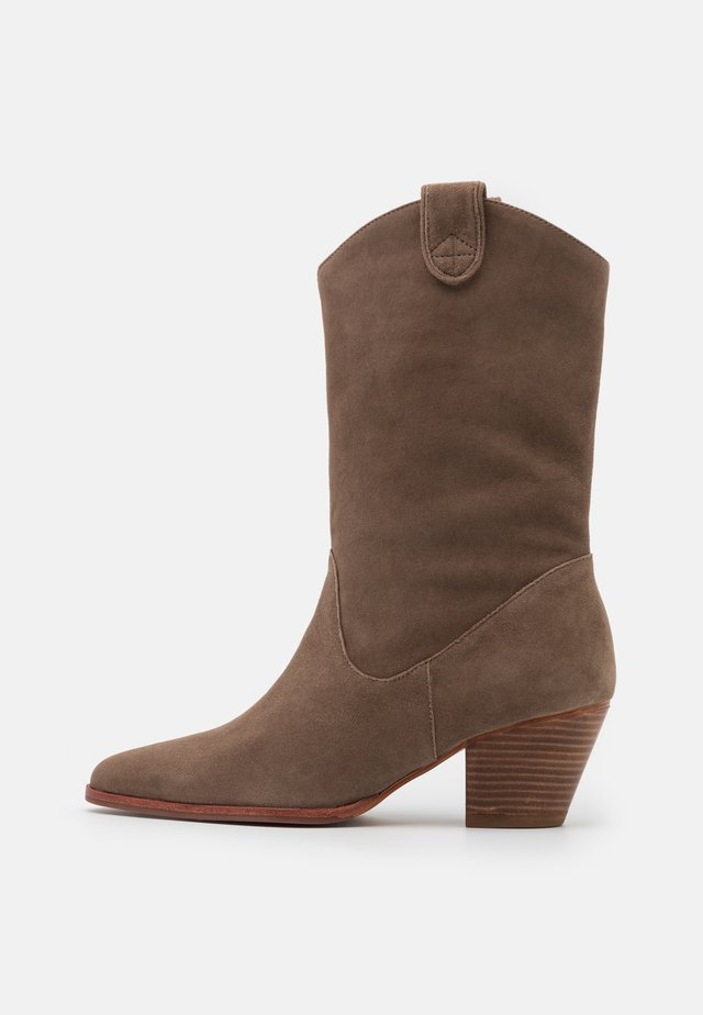 JASPER - Cowboystøvler - khaki