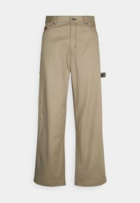 Weekday - JOHAN CARPENTER TROUSERS - Trousers - beige - 0