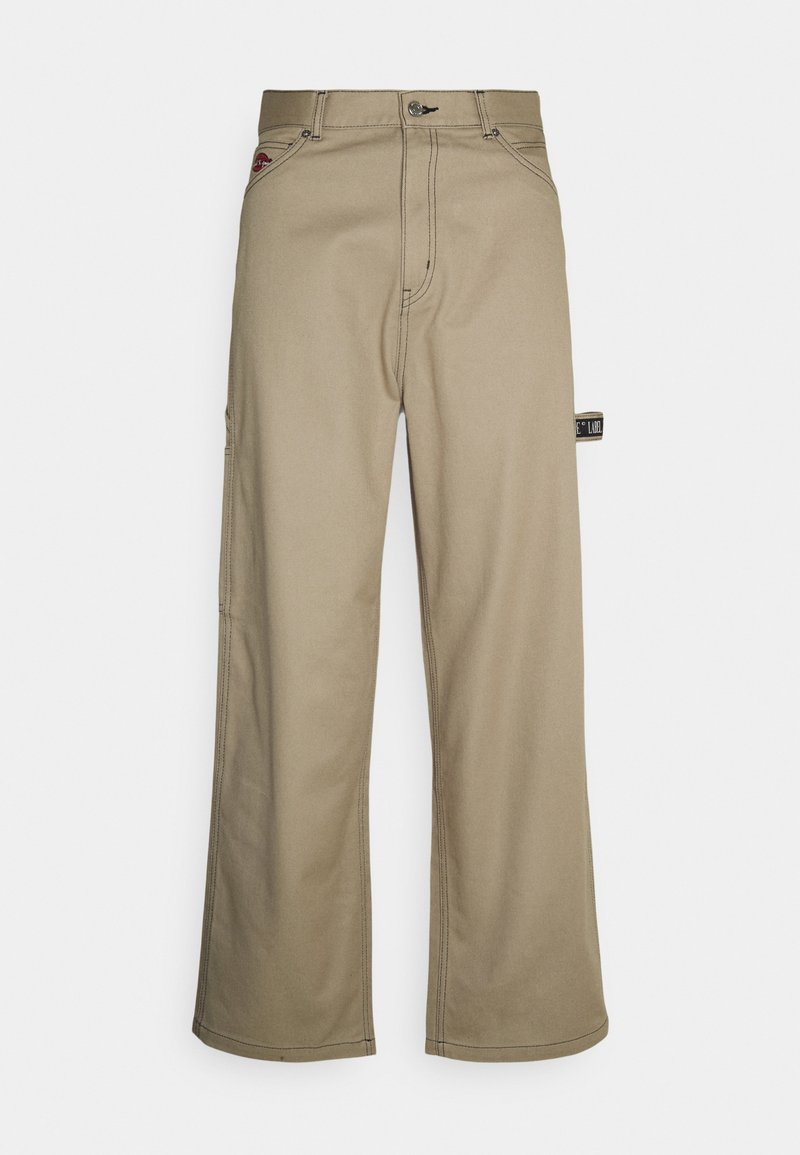Weekday - JOHAN CARPENTER TROUSERS - Trousers - beige