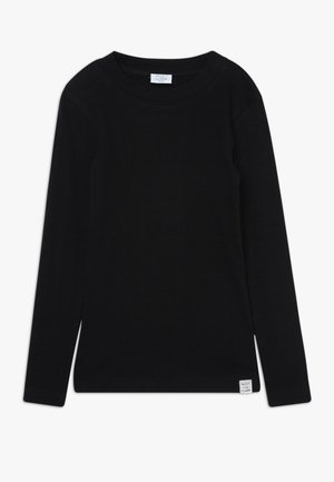 ANJA - Long sleeved top - black