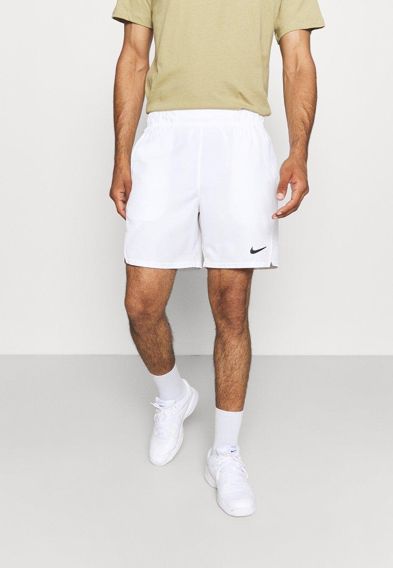 Nike Performance - VICTORY SHORT - Sports shorts - white/black