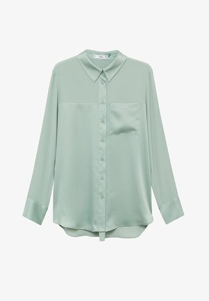 BIMA - Button-down blouse - vert