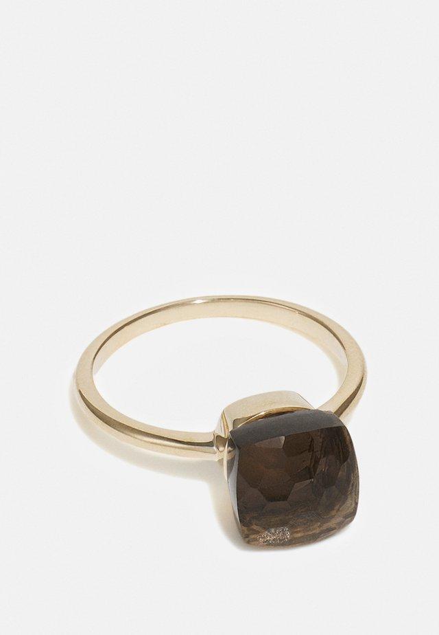 NATURAL DIAMOND RING CARAT BLACK DIAMOND RINGS KT DIAMOND JEWELLERY GIFTS FOR WOMENS - Ring - gold/black