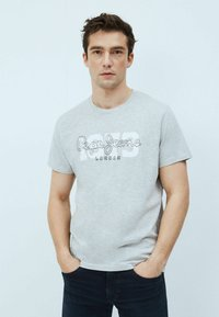 Pepe Jeans - ANDRES - T-shirt med print - gris marl - 0