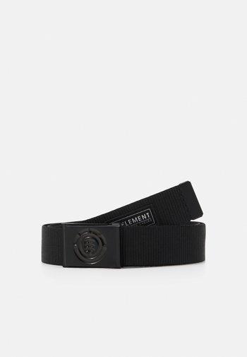 BEYOND BELT UNISEX - Pásek - black