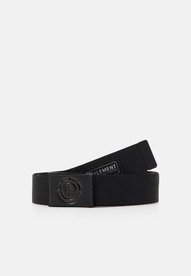 BEYOND BELT UNISEX - Belte - black