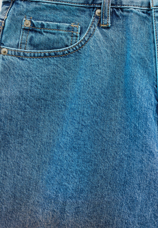 Herren MIT SPRAYPRINT - Jeans Shorts