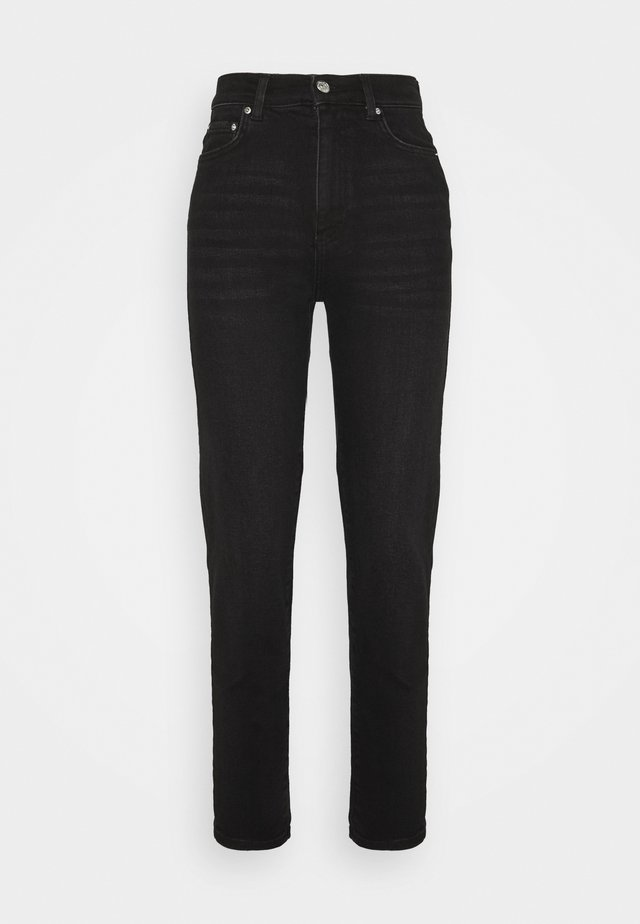 COMFY TALL MOM - Jeans Tapered Fit - black