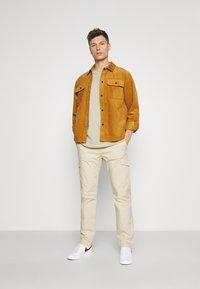 TOM TAILOR - PANTS - Pantaloni cargo - sandy beige - 1