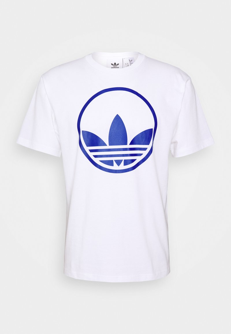 adidas Originals - CIRCLE TREFOIL - T-shirt imprimé - white