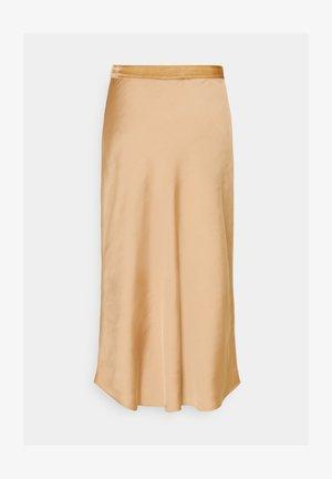 BIAS SKIRT - A-line skirt - cuban sand