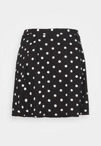 Even&Odd Petite - A-linjekjol - black/multi-coloured - 6