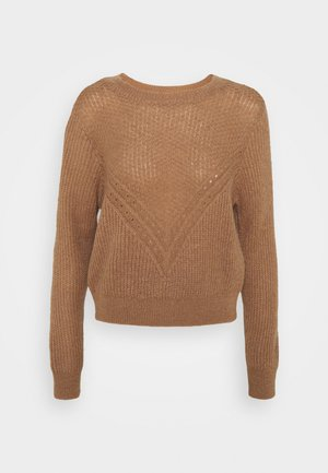 VMCARINA - Sweter - tobacco brown