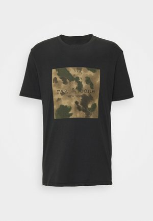 INK LOGO TEE - Print T-shirt - black