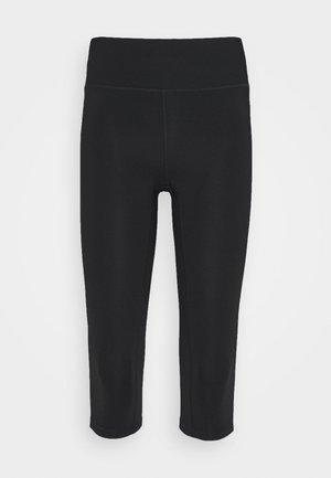 CLASSIC - 3/4 sportovní kalhoty - black