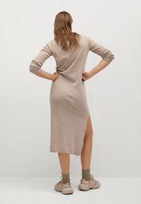 Mango - ROLLY - Jumper dress - light/pastel grey - 5