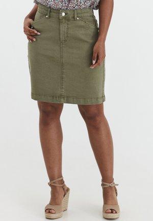 BYLIKKE SKIRT - Pencil skirt - oil green