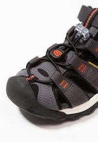 Keen - NEWPORT NEO H2 - Walking sandals - magnet/spicy orange - 2