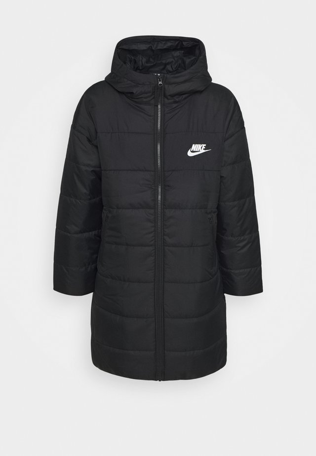CORE - Winter coat - black/white