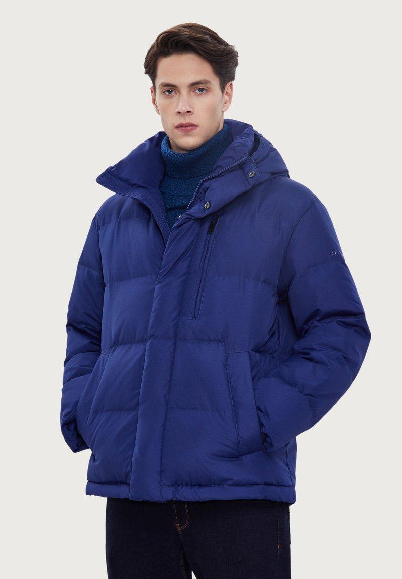 Finn Flare - Down jacket - blue
