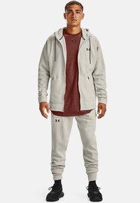 Under Armour - Zip-up hoodie - summit white - 1