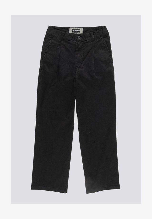 Trousers - flint black