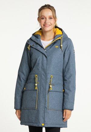 Winter coat - marine melange
