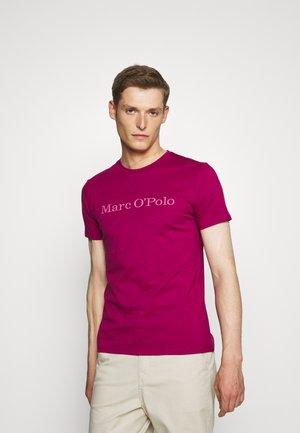 SHORT SLEEVE CREW NECK - T-Shirt print - raspberry radiance
