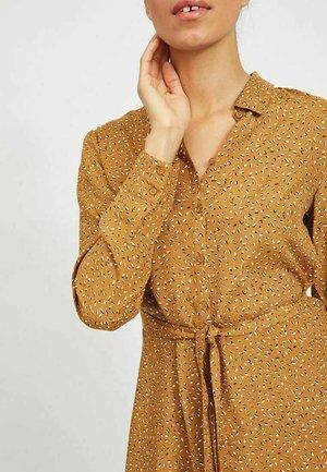 Shirt dress - tapenade