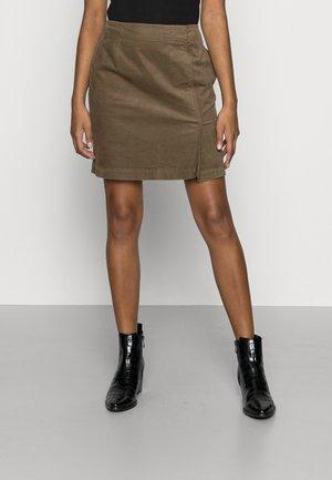 Mini skirt - nutshell brown