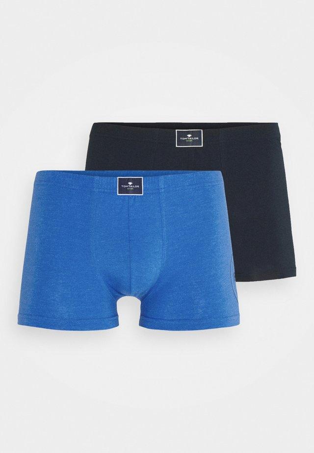 PANTS 2 PACK - Shorty - blue melange