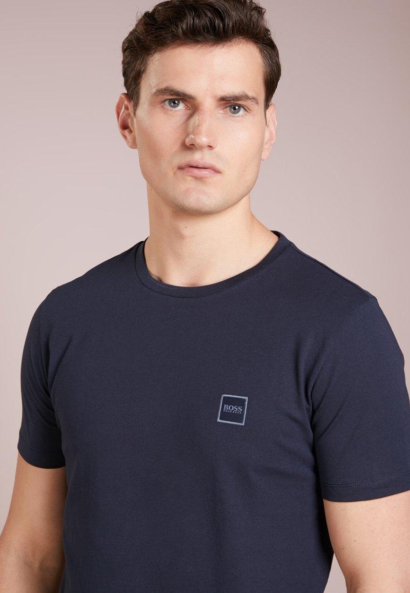 BOSS - TALES - Basic T-shirt - dark blue