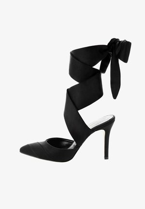 SCORDIA - High heeled sandals - black