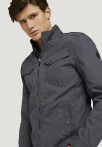 TOM TAILOR - BIKER - Light jacket - tarmac grey - 3