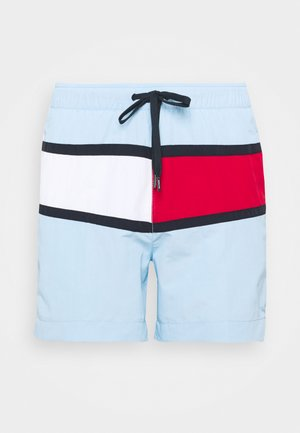 CORE FLAG MEDIUM DRAWSTRING - Badeshorts - blue