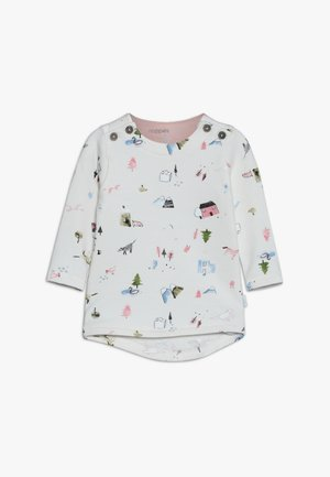 RESS COOLIDGE AOP BABY - Long sleeved top - whisper white