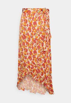 BOBO FRILL CATO SKIRT - Wrap skirt - pink