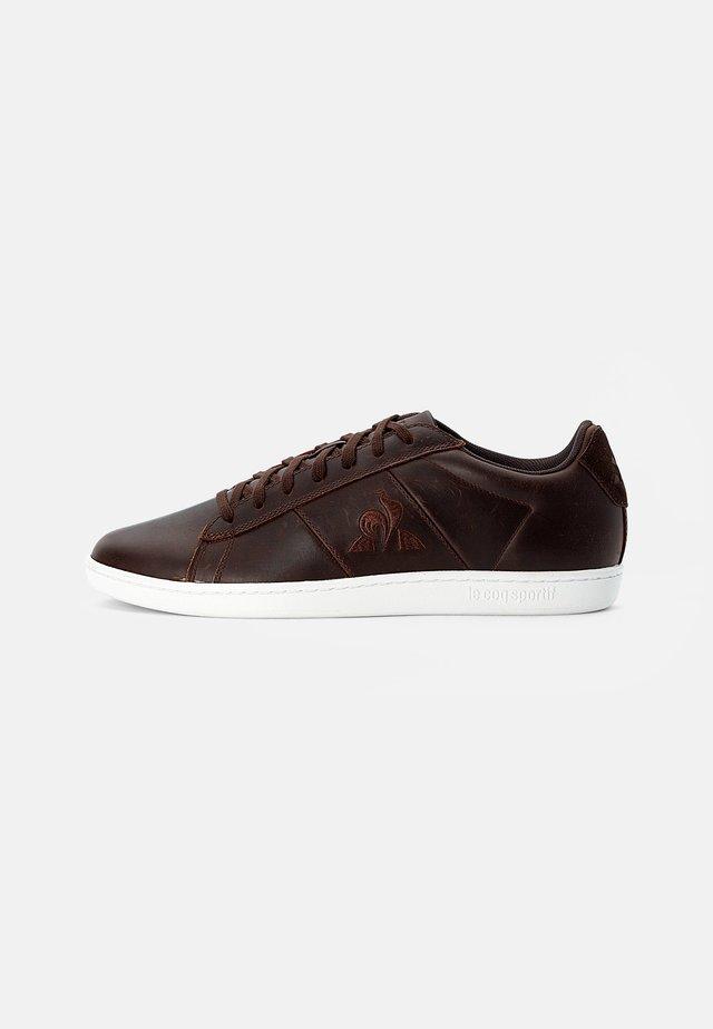 COURT CLASSIC - Sneakers - dark brown