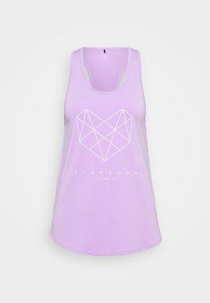 SHADOW TANK - Treningsskjorter - lilac