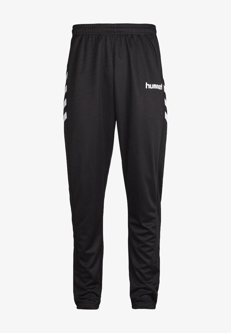 Hummel - CORE POLY  - Tracksuit bottoms - black