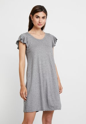 Jersey dress - light grey