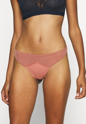 EVERYDAY G STRING 3 PACK - Thong - black/wood rose/raspberry orchid